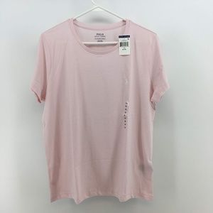 Polo Ralph Lauren Womens Basic T-Shirt Size XL Pin